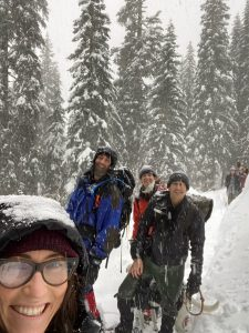 Big learning experience for us. Next time will have locating devices. Highly recommend taking avalanche awareness course and not hiking alone in areas where avalanche is possible.