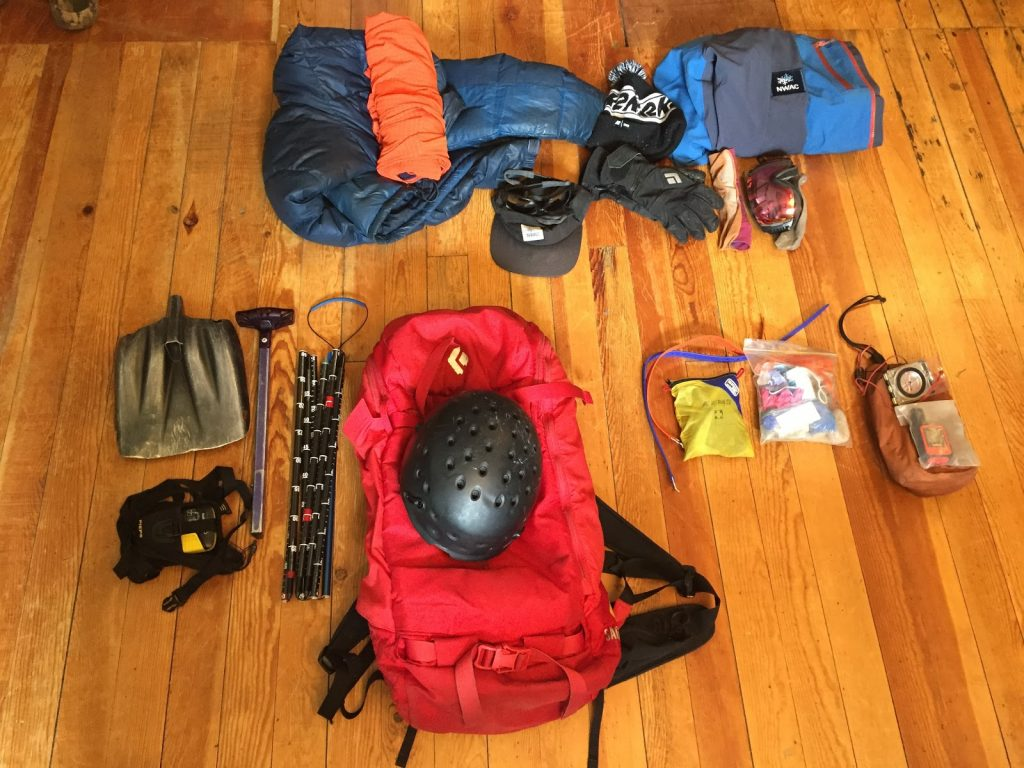 Avalanche gear and equipment. Early season must haves.