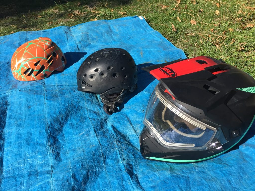 Backcountry helmets