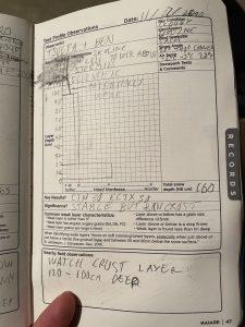 My AIARE Handbook scribbles