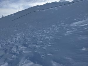 A D2 wind slab at 6400'