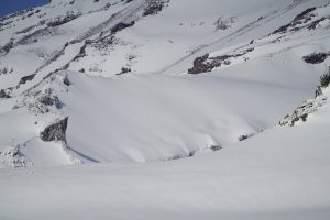 Some wind loaded slopes in the high alpine.