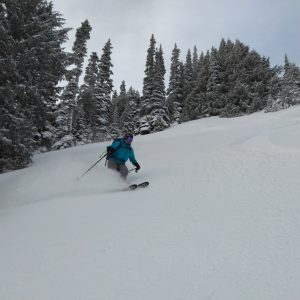 Great Ski Conditions.