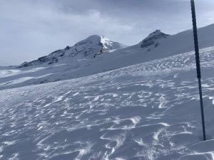 Wind affect near Hogsback on the North side of Mount Baker 5,400'