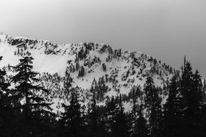 Arm reaching eastward from Chair toward Snow Lake Divide. Small crowns. Licensed CC-BY-NC-SA