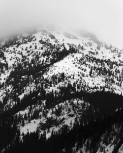 Snoqualmie Mountain S ridge. Crowns. Licensed CC-BY-NC-SA