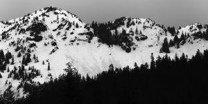 Kendall Peak. Crowns, loose-wet, debris. Licensed CC-BY-NC-SA