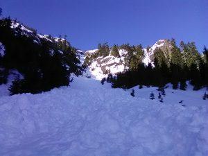 Base of chute