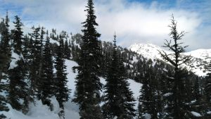 A brief period of clearing on Mt Angeles