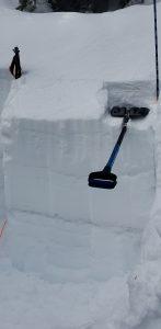 Snow layer profile.