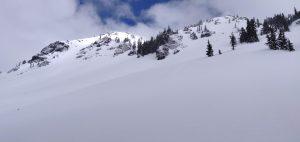 Kendall Peak ridge looking NE