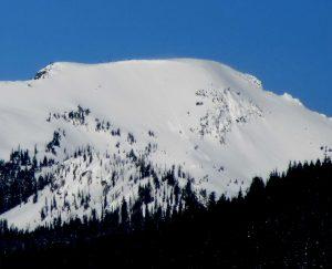 East bowl of Mt Mastiff. East at 6,600ft