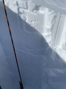 Strong snowpack above the PWL