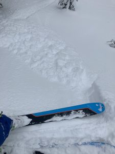 Small steep test slopes easily broke at my skis.
