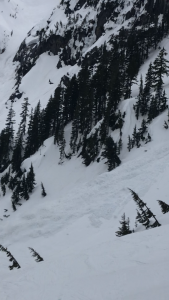 avalanche coming down