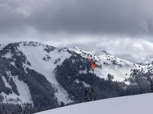 Large natural glide avalanche (D2) on a west aspect near 5000ft that occurred sometime since 4/3