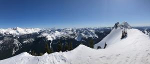 Summit ridge looking S/SW