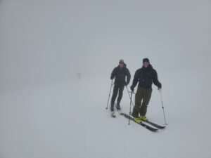 Conditions on the Snowfield at ~7800 ft.